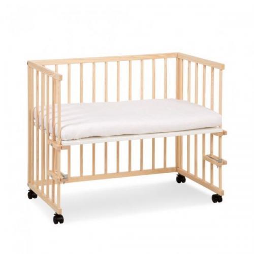 Patut copii lemn fara sertar KLUPS Piccolo Due Natur - Camera bebelusului - Patut copii