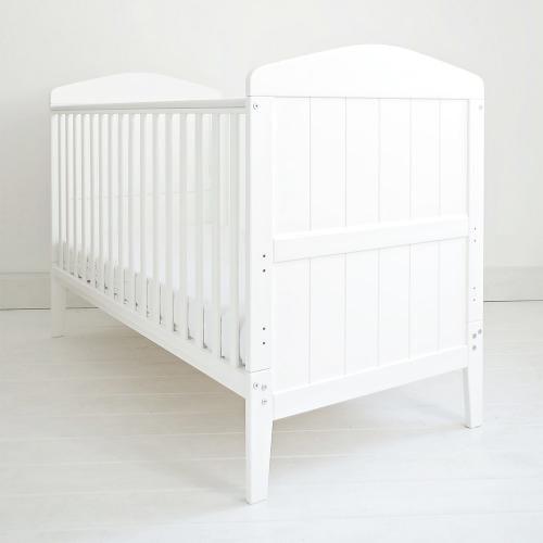 Patut din lemn masiv - transformabil pentru bebe si junior - hampton cu saltea cocos spuma 140 x 70 cm - Camera bebelusului - Patut copii