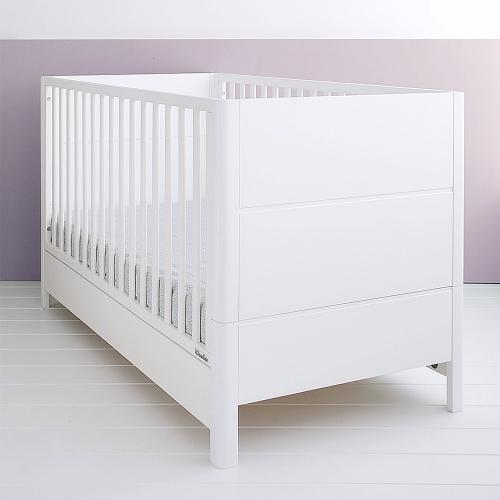 Patut din lemn masiv - transformabil pentru bebe si junior - smooth - 140 x 70 cm - Camera bebelusului - Patut copii