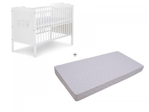 Patut Klups Marsell Bufnite + Saltea Confort 10 - Camera bebelusului - Patut copii