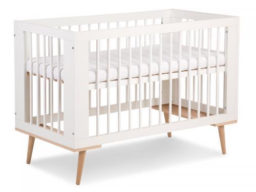 Patut Lemn Copii Klups Sofie Alb - Camera bebelusului - Patut copii
