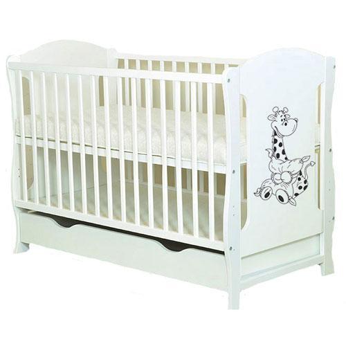 Patut Multifunctional Giraffe White - Camera bebelusului - Patut copii