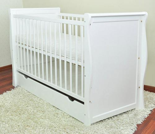 Patut Multifunctional Regal White - Camera bebelusului - Patut copii