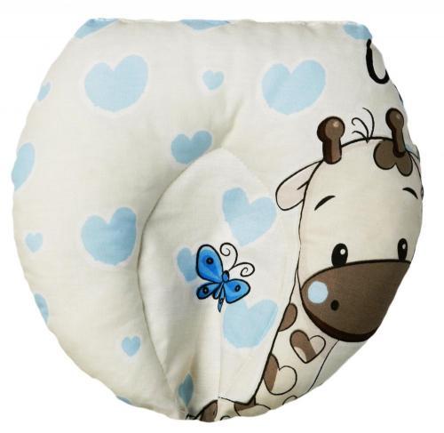 Perna pentru formarea capului bebelusului U&Me Blue - Perna bebelusi -