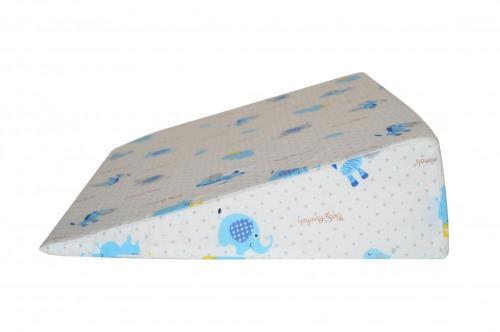 Perna plan inclinat multifunctionala Blue Zebra - Perna bebelusi -