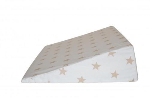 Perna plan inclinat multifunctionala Cream Stars - Perna bebelusi -