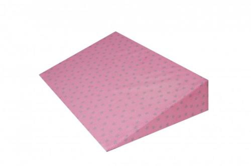 Perna plan inclinat multifunctionala Grey Stars Pink - Perna bebelusi -