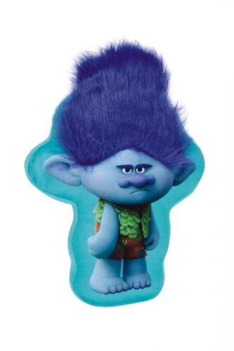 Perna plus in forma de Trolls albastra - Perna bebelusi -