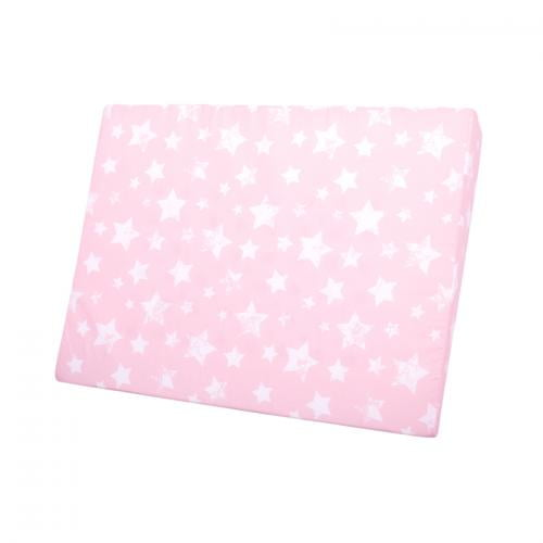 Pernuta bebe air comfort 60/45/9 cm - pink stars - Perna bebelusi -