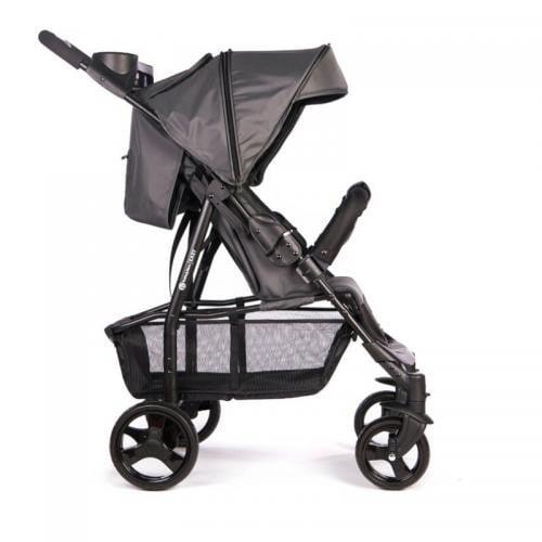 Petite&Mars - Carucior sport Easy - Carbon Grey - Carucior bebe - Carucioare sport