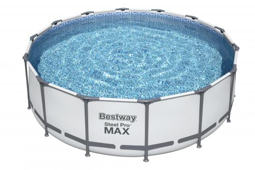 Piscina supraterana bestway steel pro max™ 427m x 122m cod 5612x - Jucarii exterior - Piscine