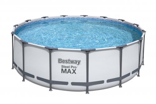 Piscina supraterana bestway steel pro max™ 457m x 122m cod 56438 - Jucarii exterior - Piscine