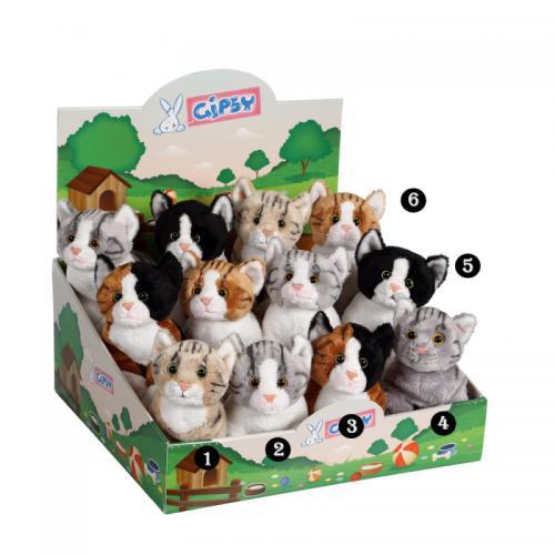 Pisica - jucarie din plus 22cm - Jucarii copilasi - Jucarii din plus