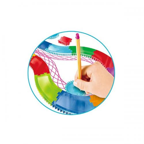 Pista de desen in spirala si accesorii - Jucarii copilasi - Arta indemanare
