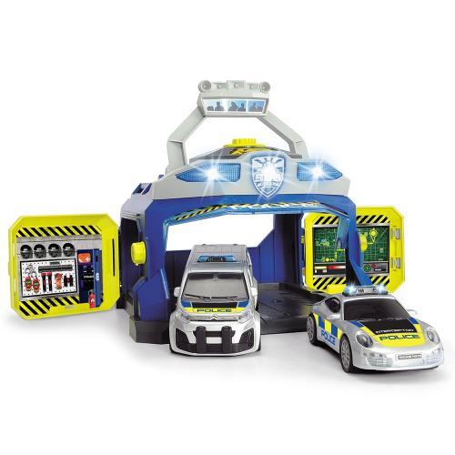 Pista de masini Dickie Toys Command Unit cu 2 masini - Jucarii copilasi - Avioane jucarie