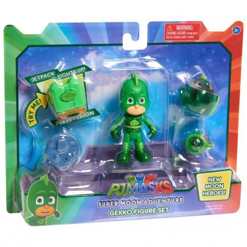 Pj masks super moon adventure figure set-gekko - Jucarii copilasi - Figurine pop
