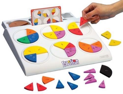 Placinta Fractiilor - Jocuri pentru copii - Jocuri matematica