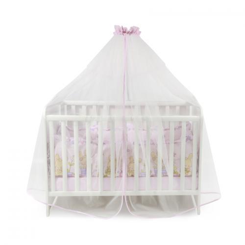 Plasa de baldachin 480/150 cm - pink - Camera bebelusului - Baldachin