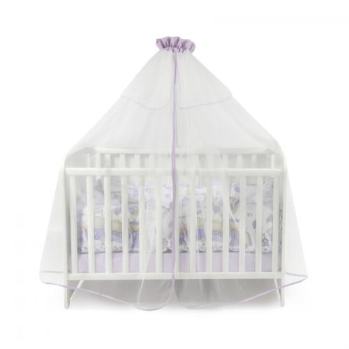 Plasa de baldachin 480/150 cm - violet - Camera bebelusului - Baldachin