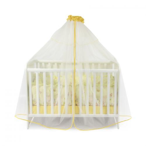Plasa de baldachin 480/150 cm - yellow - Camera bebelusului - Baldachin