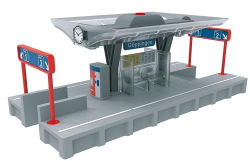 Platforma de asteptare cu lumini Marklin My World - Jucarii copilasi - Avioane jucarie