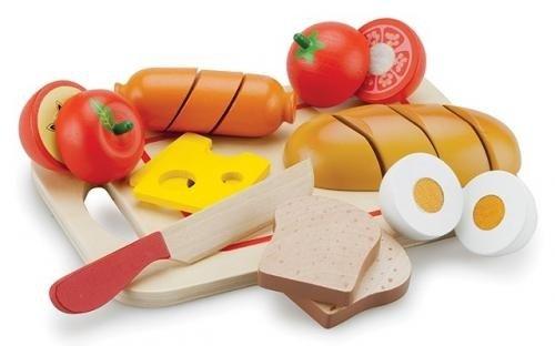 Platou Cu Diferite Alimente - Jucarii Montessori -