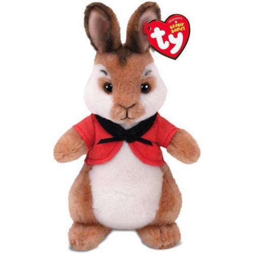 Plus licenta Peter Rabbit - FLOPSY (15 cm) - Ty - Jucarii copilasi - Jucarii din plus