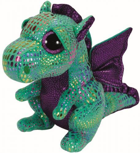 Plus ty 24cm boos cinder dragon verde - Jucarii copilasi - Jucarii din plus