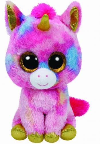 Plus ty 24cm boos fantasia unicorn multicolor - Jucarii copilasi - Jucarii din plus