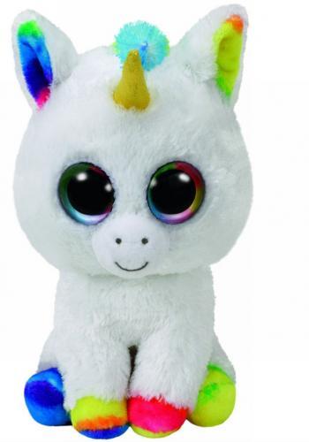Plus ty 24cm boos pixy unicorn alb - Jucarii copilasi - Jucarii din plus