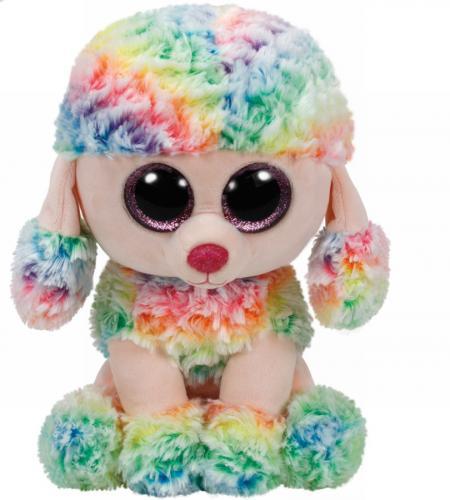 Plus ty 24cm boos rainbow pudel multicolor - Jucarii copilasi - Jucarii din plus
