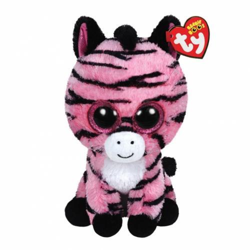 Plus zebra roz ZOEY (24 cm) - Ty - Jucarii copilasi - Jucarii din plus