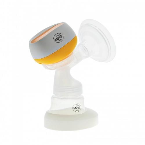 Pompa san electrica Minut Baby cu biberon si acumulator - Hrana bebelusi - Sterilizator biberon