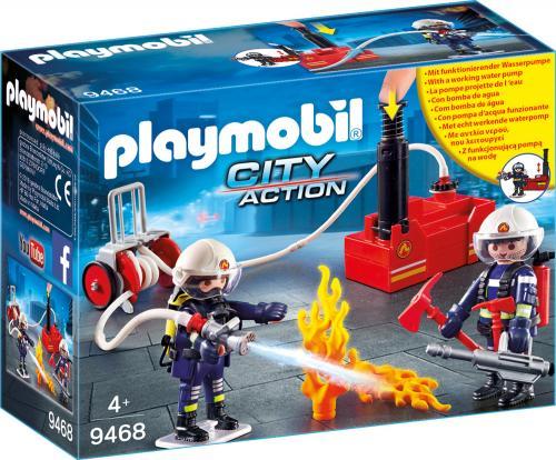 Pompieri Cu Pompa De Apa - Jucarii Playmobil -