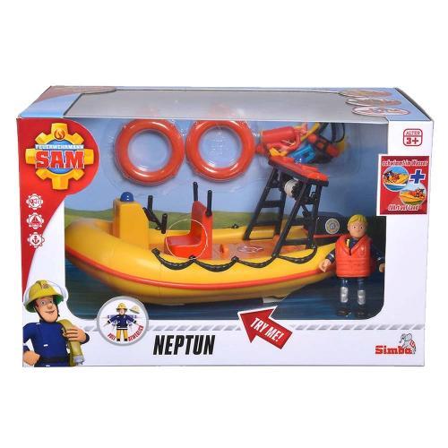 Pompierul sam barca neptun cu figurina si accesorii - Jucarii copilasi - Avioane jucarie