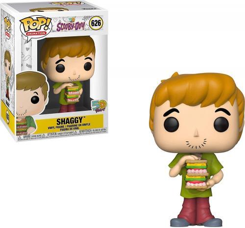 Pop Animation: Scooby Doo- Shaggy W/ Sandwich - Jucarii copilasi - Figurine pop