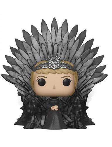 Pop Deluxe: Got S10 - Cersei Lannister Sitting On Throne - Jucarii copilasi - Figurine pop