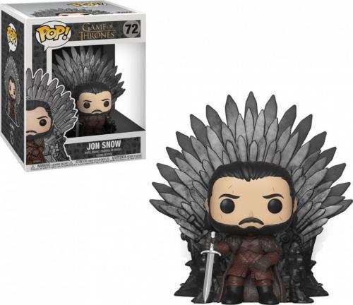 Pop Deluxe: Got S10 - Jon Snow On Iron Throne - Jucarii copilasi - Figurine pop
