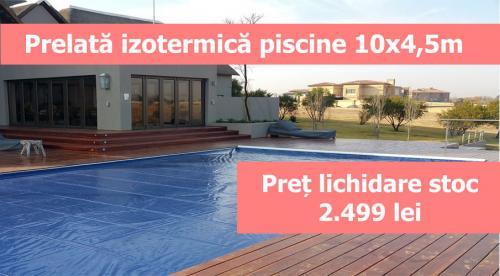Prelata izotermica cu bule de vara pentru piscine 10x4 -5m - Jucarii exterior - Piscine