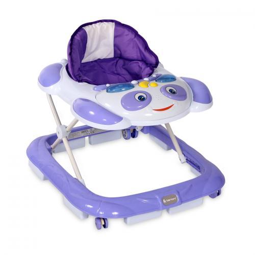 Premergator bw-12 happy cu eurobaza - violet - Plimbare bebe - Premergator copii