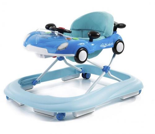 Premergator Car Blue - Plimbare bebe - Premergator copii