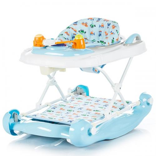 Premergator Chipolino Lilly 3 in 1 blue - Plimbare bebe - Premergator copii
