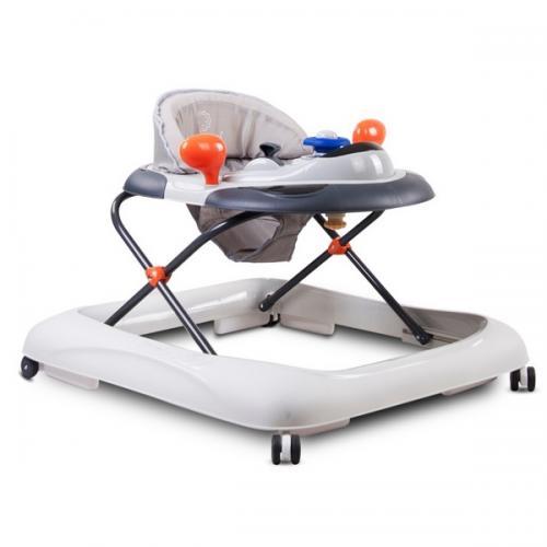 Premergator sun baby cu sunete si lumini 019 - grey - Plimbare bebe - Premergator copii