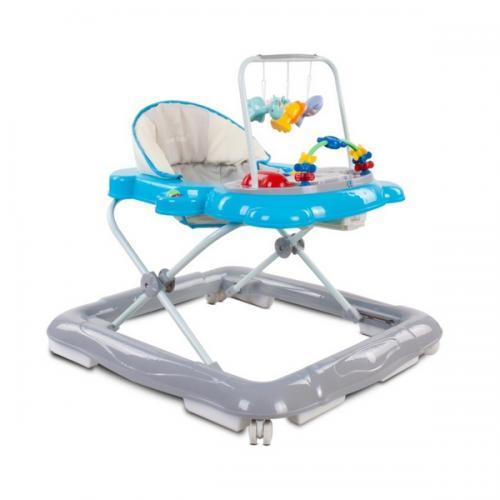 Premergator sun baby pisicuta 020 - blue grey - Plimbare bebe - Premergator copii