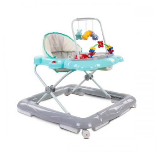 Premergator sun baby pisicuta 020 - turquoise grey - Plimbare bebe - Premergator copii
