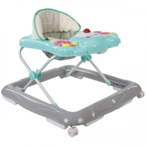 Premergator sun baby ursulet 001 - blue orange green - Plimbare bebe - Premergator copii