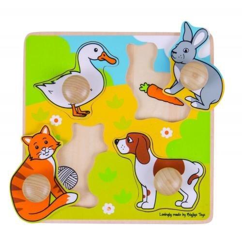 Primul meu puzzle - animale de companie - Jocuri pentru copii - Jocuri cu puzzle