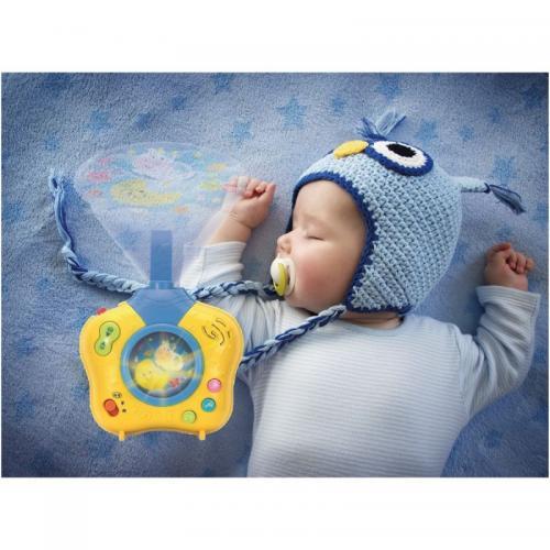 Proiector bebe muzical atasabil la patut Smily Play Dreams - Camera bebelusului - Lampa de veghe