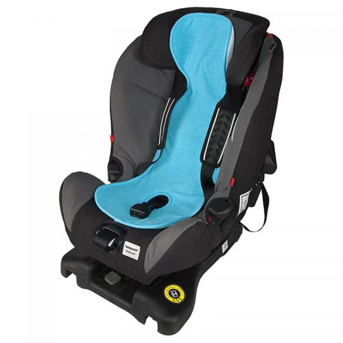 Protectie antitranspiratie - scaun auto 0-9kg - turcoaz - Accesorii auto -