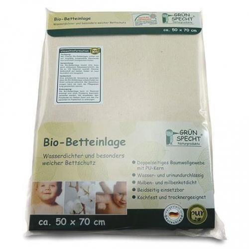 Protectie organica impermeabila pentru saltea 50X70cm GRUENSPECHT 615-00 - Igiena ingrijire -